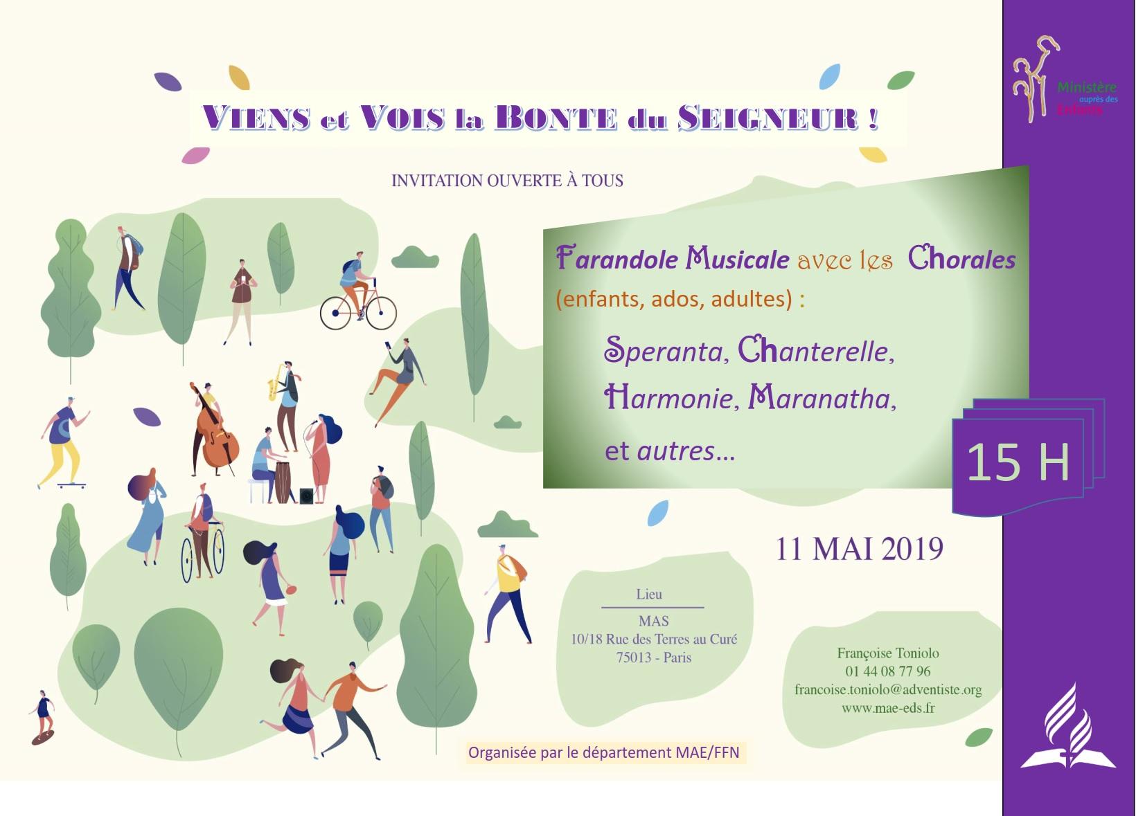 Farandole musicale – 11 mai 2019