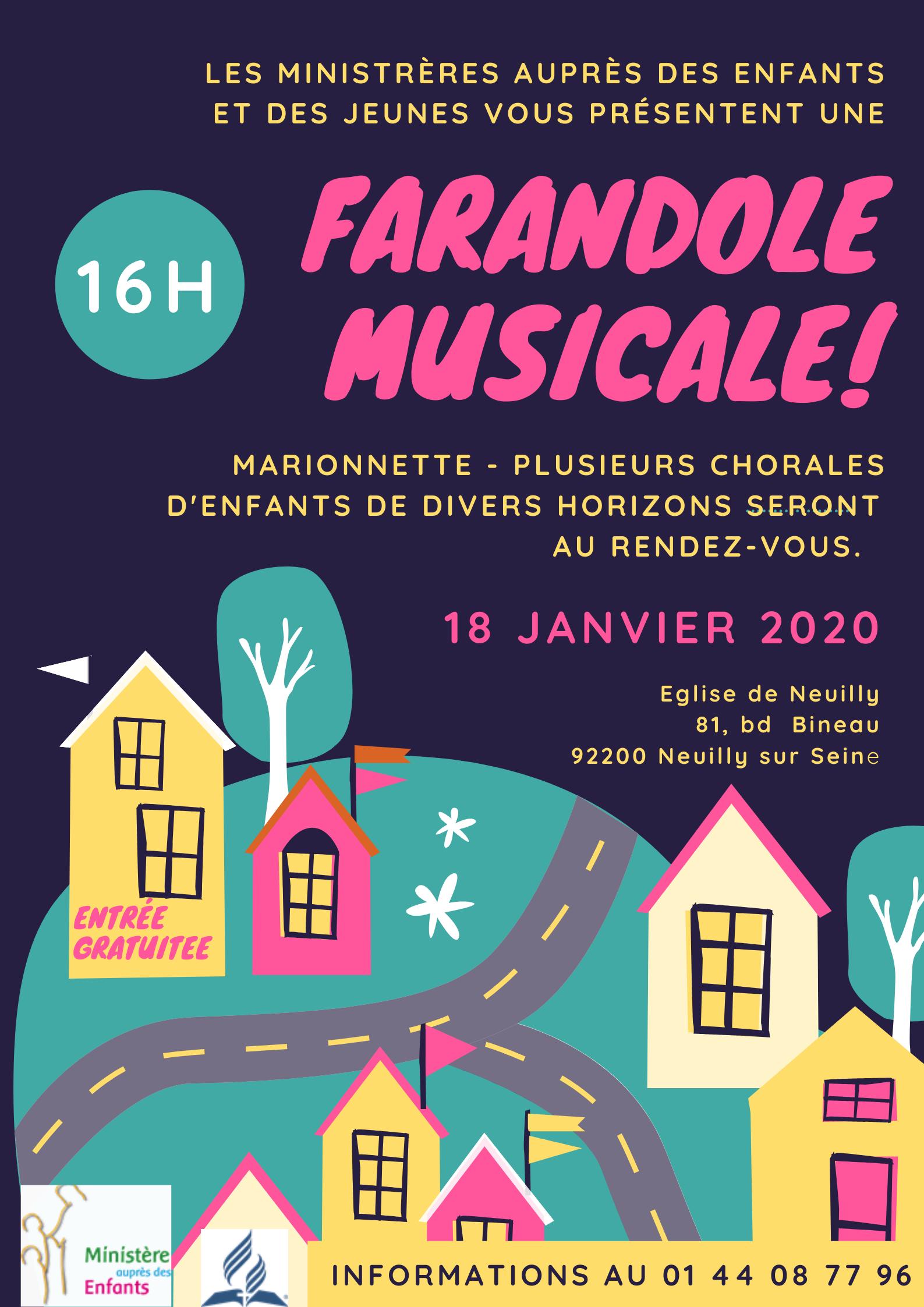 Farandole musicale – 18/01/2020